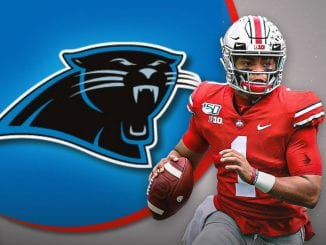 Justin Fields, Panthers, NFL Draft